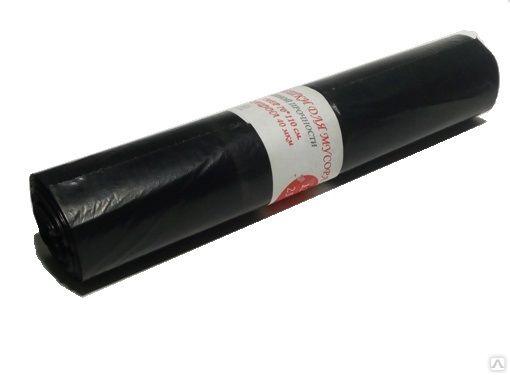 Мешок для мусора ПВД 120л 70*110/40 мкм (25/250) Г, упак