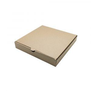 Коробка под пиццу бурая 250*250*45 , шт