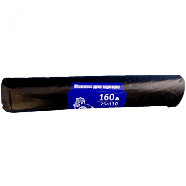 Мешок для мусора 160л(30шт) 50мкм рулон (150) У, рул