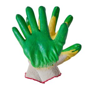 Перчатки ХБ с 1-м латексным покрытием (10/100), пар