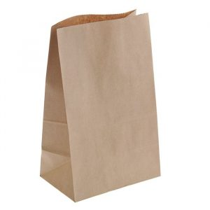 Пакет Бумажный 120*80*330  ПК2 крафт 50гр/м2 (1000), шт