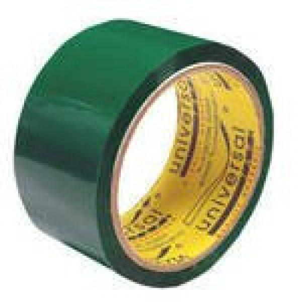 Клейкая лента Universal 48*40 45 мкм зелен 6/36, шт