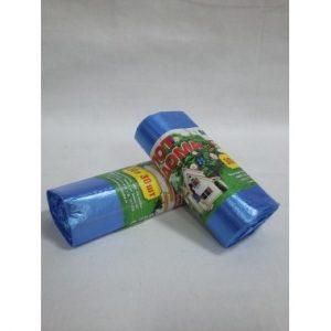 Мешок  для мусора 60(30) голуб, рул