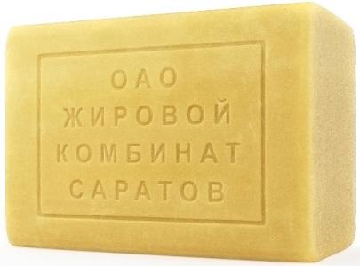 Мыло хозяйственное 280гр 65% Саратов 1/33, шт