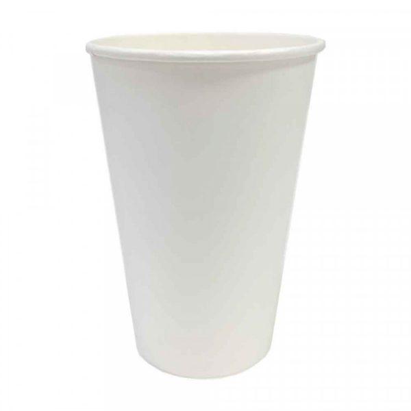 Стакан бумажный белый 250мл (50/1200), шт