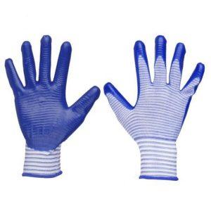 Перчатки нейлоновые ПЛАМЯ-полосатик, пар