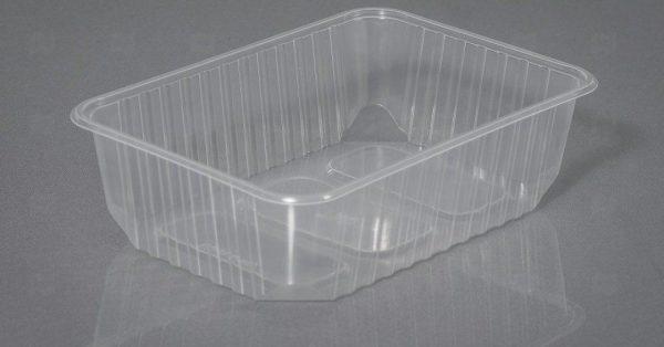 Контейнер прямоугольный 500 мл 132*186*35 (50/500 шт.) , шт