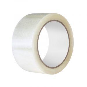 Клейкая лента 48*66/40мкм белая (36), шт
