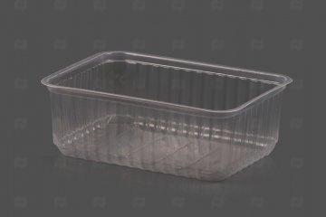 Контейнер прямоугольный 1000мл 186*132 с крышк 1/50/500, шт