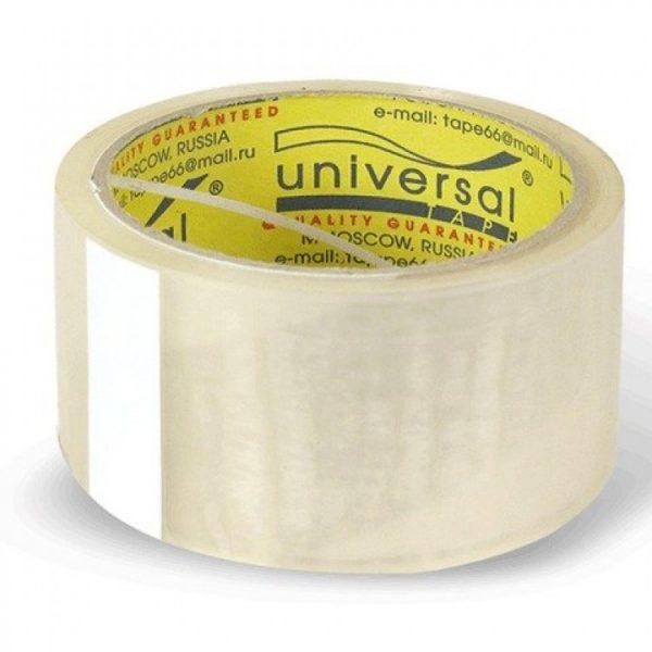 Клейкая лента Universal 48*40 45 мкм белая 6/36, шт