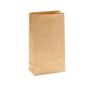 Пакет бумажный 160*95*320 ПК3 крафт 70гр (600), шт