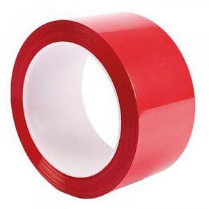 Клейкая лента 48*66/40мкм красная (36), шт