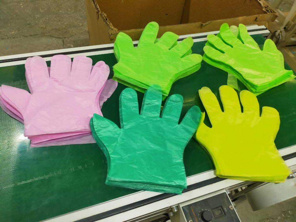 Целлофановые перчатки