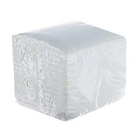 Салфетки белые 100л.  эко 1/48, упак
