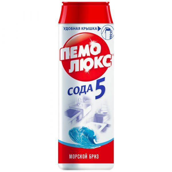 """Чистящий порошок 480г ПЕМОЛЮКС Сода """"Морской бриз"""" 1/36, шт"""