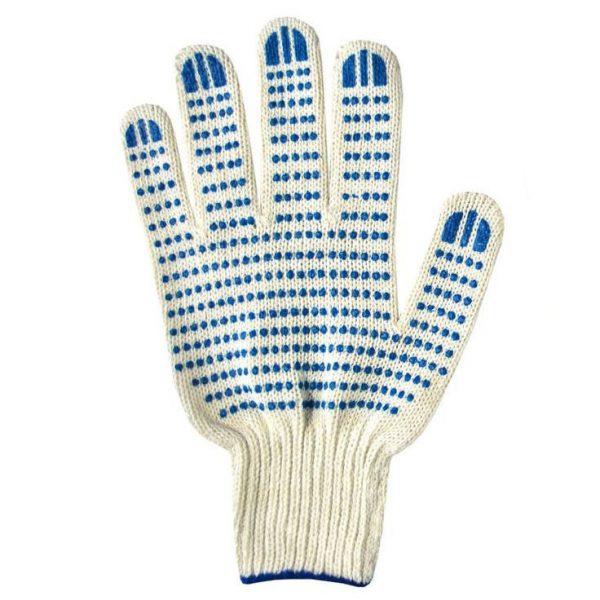 Перчатки ХБ 10класс  6/10 белые люкс 1/300 ЛТ, пар
