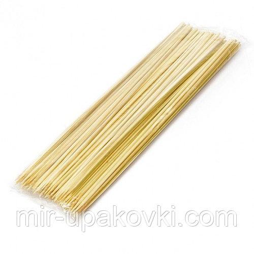 Стеки д/шашлыка бамбук 30 см (100/100), упак
