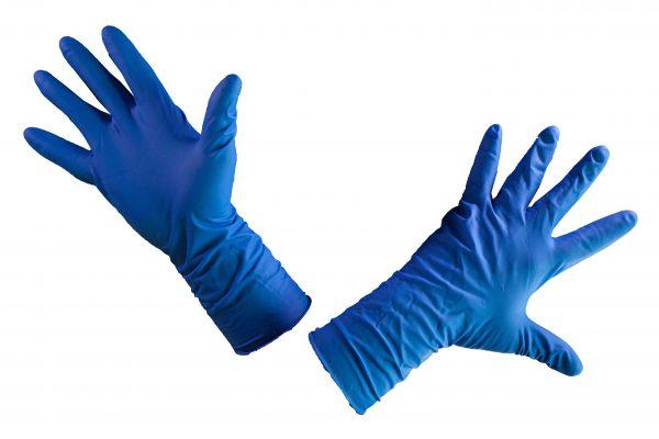 Перчатки латексные High Risk М (25/250), пар