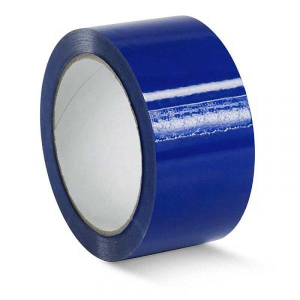 Клейкая лента 48*66/40мкм синяя (36), шт
